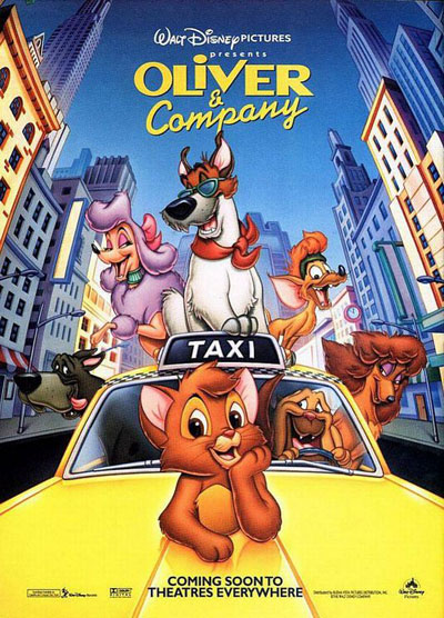 Oliver and Company 1988 USA 25th Anniversary BluRay REMUX 1080p AVC DTS-HD MA 5.1 - BluDragon