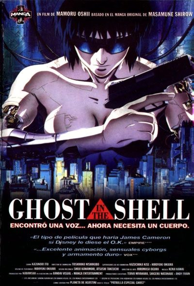 Ghost in The Shell 1995 BluRay REMUX 1080p AVC DTS DTS-MA - BluDragon