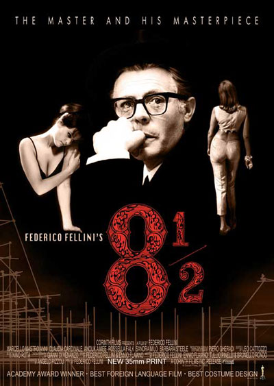 Eight and a Half AKA 8½ 1963 Italian BluRay 1080p DD1.0 x264-CtrlHD