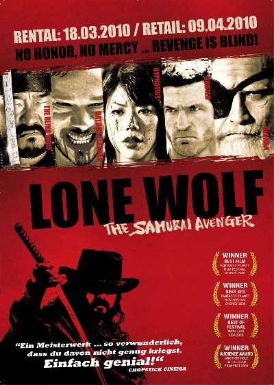 Samurai Avenger The Blind Wolf 2009 1080p BluRay DD5.1 x264-LiViDiTY