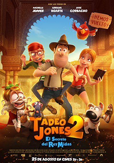 Tad the Lost Explorer and the Secret of King Midas 2017 720p BluRay DD5.1 x264-EVO