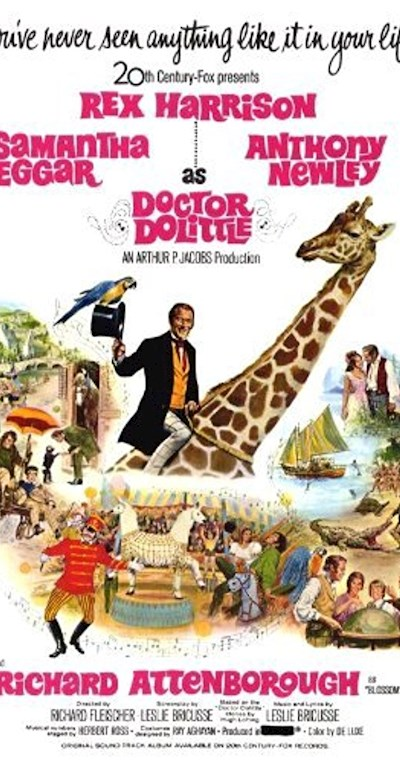 Doctor Dolittle 1967 BluRay REMUX 1080p AVC DTS-HD MA 5.1 - BluDragon
