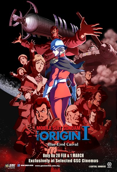 Mobile Suit Gundam The Origin I - Blue-Eyed Casva 2015 JPN BluRay REMUX 1080p AVC DTS-HD MA - BluDragon