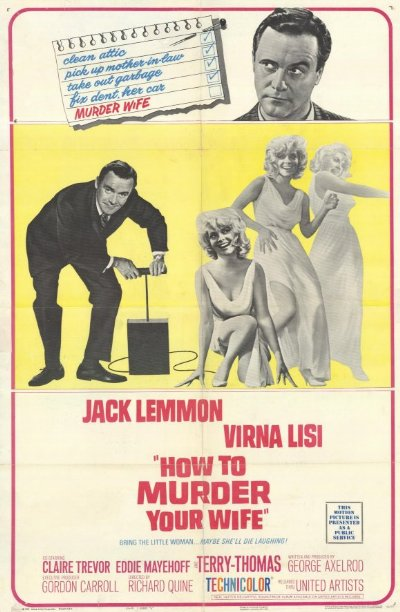 How To Murder Your Wife 1965 1080p BluRay DTS x264-SiNNERS