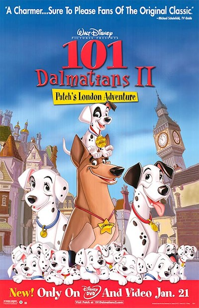 101 Dalmatians II Patch's London Adventure 2003 720p BluRay DD5.1 x264-HDT