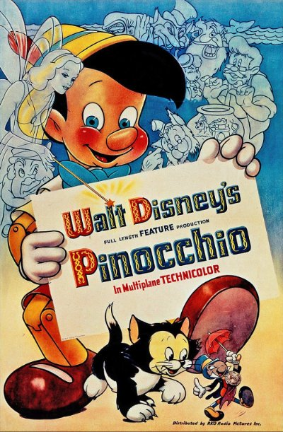 Pinocchio 1940 USA Signature Collection BluRay REMUX 1080p AVC DTS-HD MA 7.1 - BluDragon