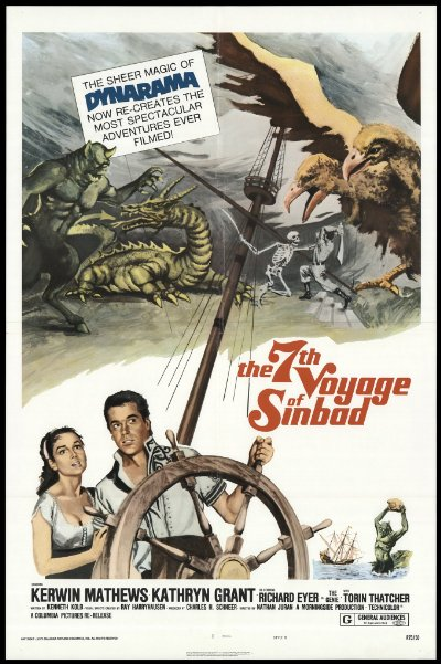 the 7th voyage of sinbad 1958 remastered 720p BluRay DTS x264-spooks
