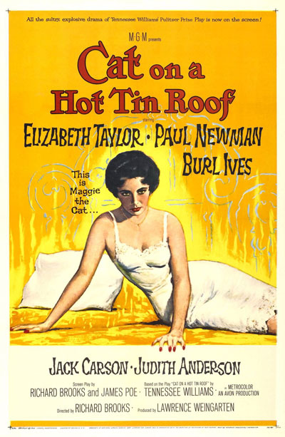 Cat on a Hot Tin Roof 1958 720p WEB-DL AAC H264-UNK