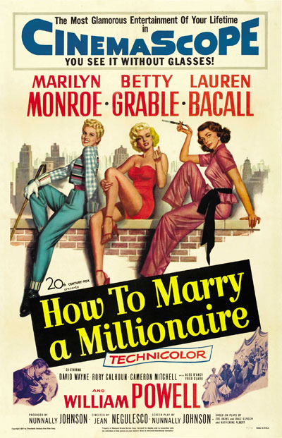 How To Marry A Millionaire 1953 720p BluRay DD5.1 x264-HiDt