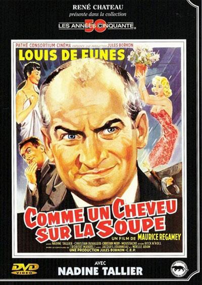 Crazy in the Noodle aka Comme un cheveu sur la soupe 1957 French 1080p BluRay FLAC x264-EA