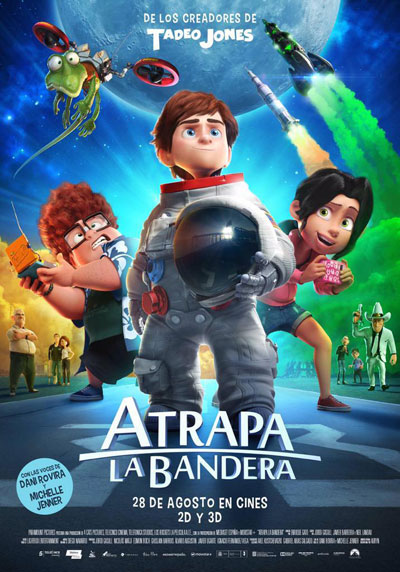 Capture the Flag aka Atrapa La Bandera 2015 Spanish 1080p BluRay DD5.1 x264-EbP