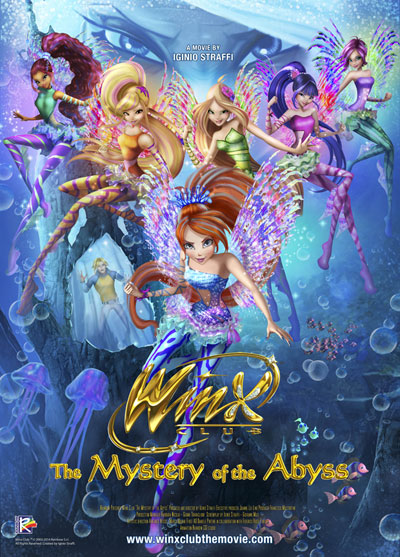 Winx Club The Mystery of the Abyss 2014 720p BluRay DTS x264-iFT