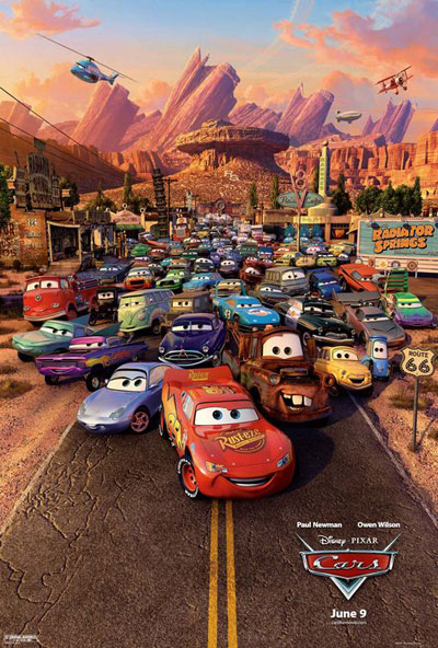 Cars 2006 1080p BluRay DTS x264 D-Z0N3