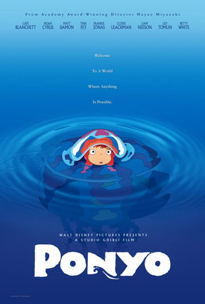 Ponyo on the Cliff by the Sea 2008 2in1 Japanese 1080p BluRay DTS x264-CtrlHD