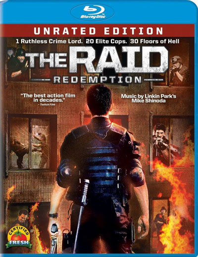 The Raid Redemption 2011 720p US BluRay x264 DTS-HDChina