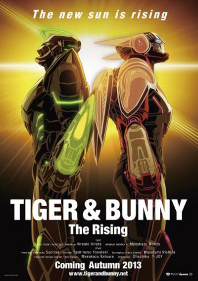 Tiger and Bunny The Rising 2014 Japanese 720p BluRay DD5.1 x264-SuKo
