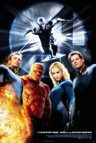 Fantastic Four Rise of the Silver Surfer 2007 1080p BluRay DTS x264-hV