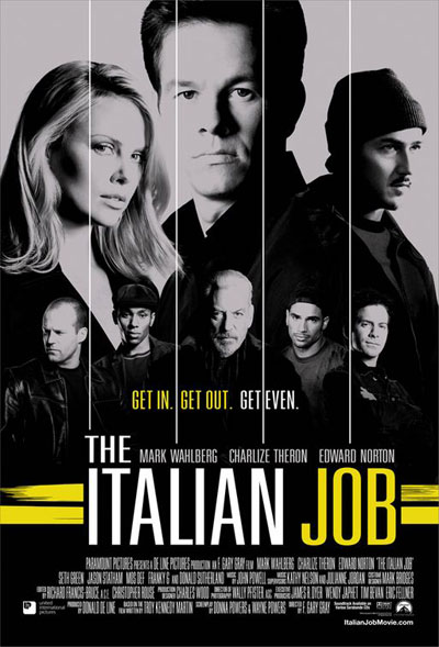 The Italian Job 2003 720p BluRay DD5.1 x264-HiDt