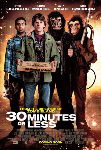 30 Minutes or Less 2011 BluRay 1080p DTS x264-CHD