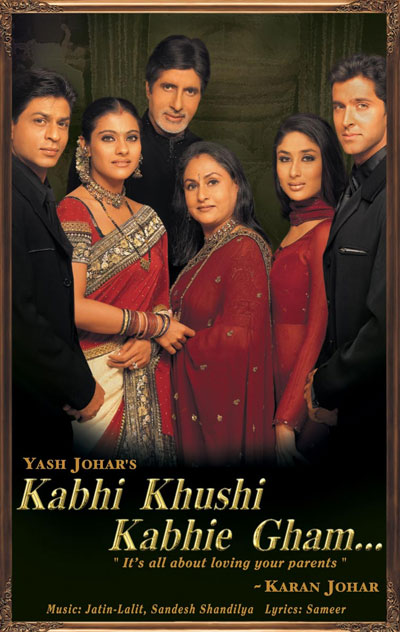 Kabhi Khushi Kabhie Gham 2001 Hindi 720p BluRay DD5.1 x264-DDR