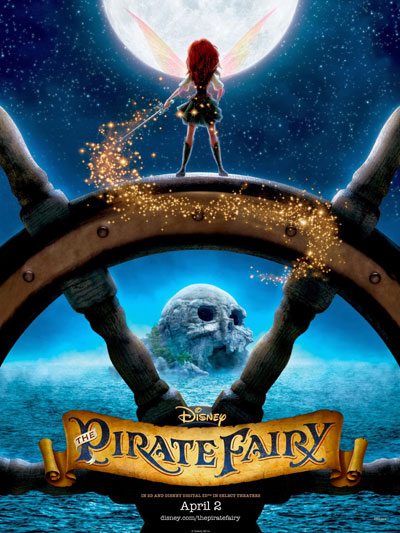 Tinker Bell And The Pirate Fairy 2014 720p BluRay DTS x264-CtrlHD
