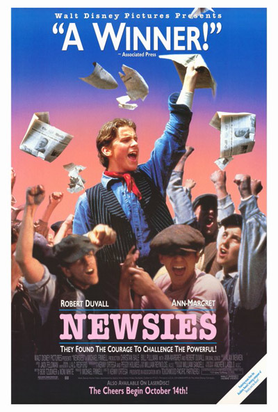 Newsies 1992 720p BluRay DTS x264-HD4U