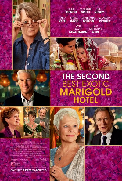 The Second Best Exotic Marigold Hotel 2015 720p BluRay DTS x264-GECKOS