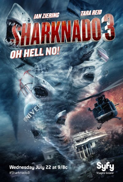 Sharknado 3 Oh Hell No 2015 720p BluRay DTS x264-VETO