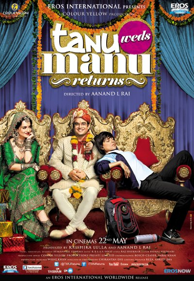 Tanu Weds Manu Returns 2015 Hindi 720p BluRay DD5.1 x264-BluPanther