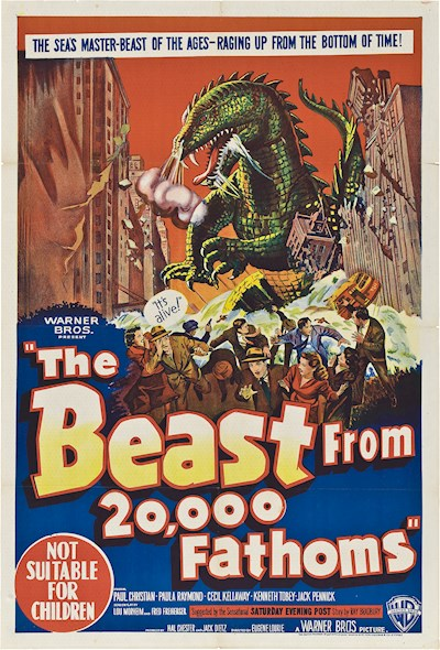 The Beast From 20000 Fathoms 1953 1080p BluRay DTS x264-DiVULGED