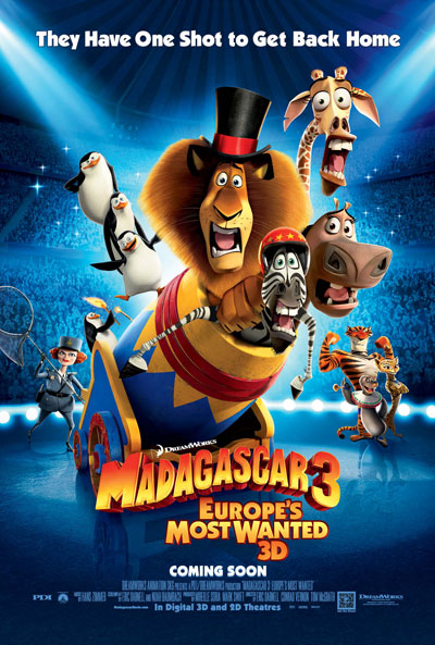 Madagascar 3 Europes Most Wanted 2012 BluRay REMUX 1080p AVC TrueHD 7.1-HDB