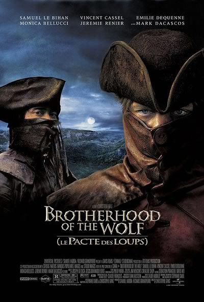 Brotherhood of the Wolf aka Le pacte des loups 2001 French DC 720p HDDVD DTS x264-CRiSC