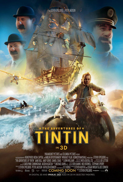 The Adventures of Tintin Secret of the Unicorn 3D 2011 1080p BluRay Half OU DTS x264-HDMaNiAcS