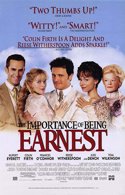 The Importance of Being Earnest 2002 1080p BluRay DD5.1 x264-PTer