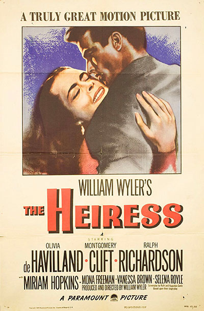The Heiress 1949 1080p BluRay FLAC x264-AMIABLE