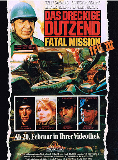 The Dirty Dozen The Fatal Mission 1988 720p BluRay DTS x264-WiSDOM