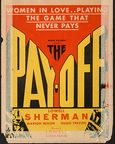 The Pay-Off 1930 1080p BluRay FLAC2.0 x264-SaL