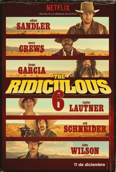 The Ridiculous 6 2016 2160p Netflix WEB-DL DD5.1 HEVC-TrollUHD