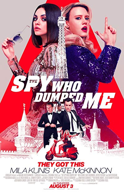 The Spy Who Dumped Me 2018 BluRay 1080p DD5.1 x264-CHD