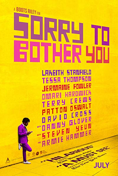 Sorry to Bother You 2018 1080p BluRay DTS x264-DRONES