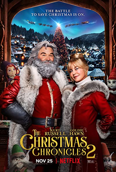 The Christmas Chronicles 2 2020 1080p WEB-DL DDP5.1 x264 Atmos-EVO