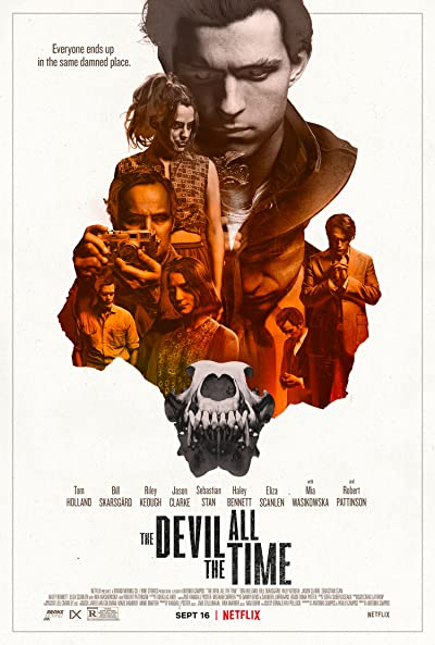 The Devil All the Time 2020 1080p WEB-DL DDP5.1 Atmos x264-CMRG