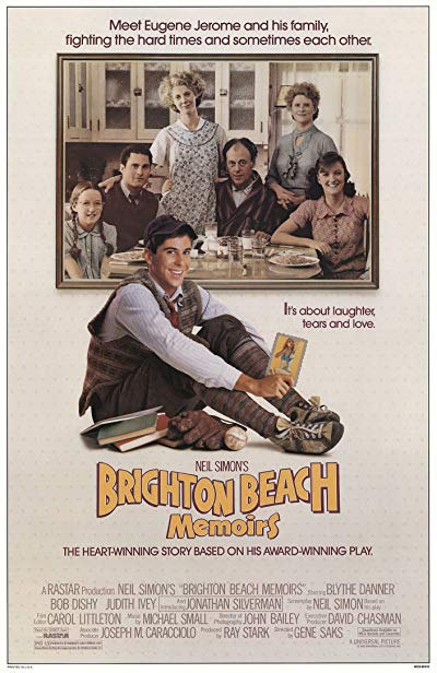Brighton Beach Memoirs 1986 720p BluRay DTS x264-PSYCHD