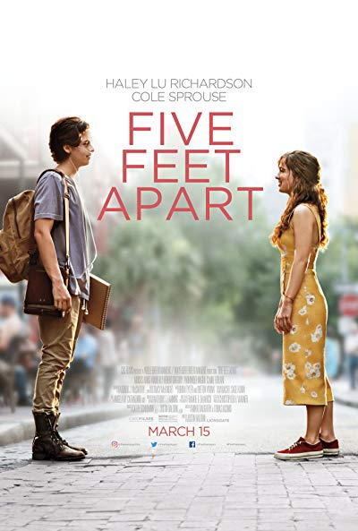 Five Feet Apart 2019 BluRay 1080p DTS-HD MA 5.1 x264-MTeam