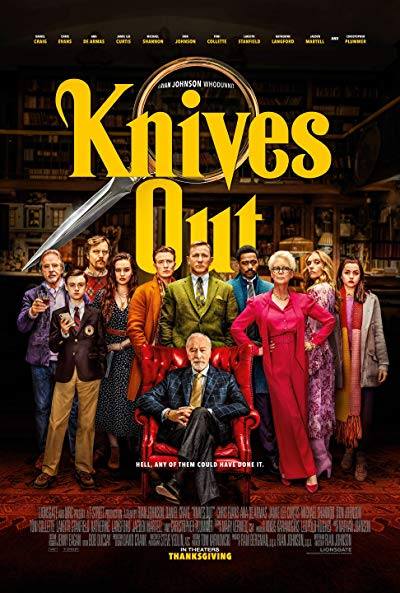 Knives Out 2019 720p BluRay DD5.1 x264-YOL0W