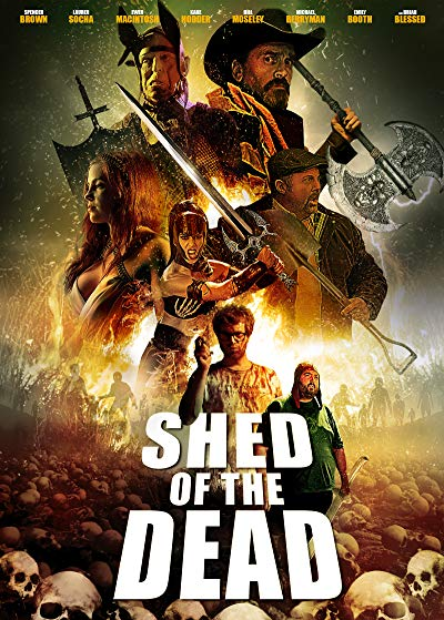 Shed Of The Dead 2019 UNCUT 720p BluRay DTS x264-GETiT