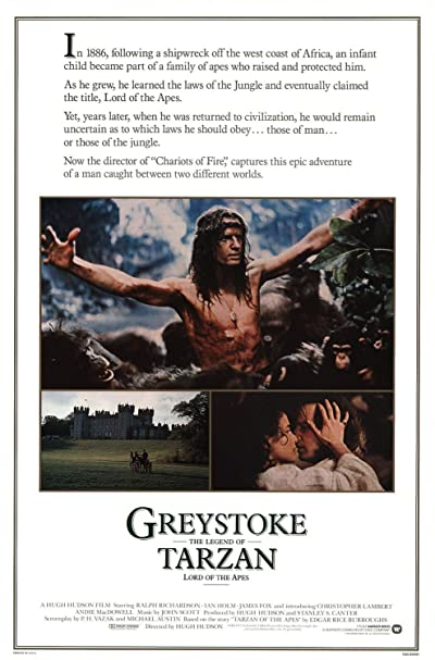 Greystoke The Legend of Tarzan 1984 1080p BluRay DTS x264-AMIABLE