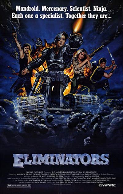 Eliminators 1986 BluRay REMUX 1080p AVC DTS-HD MA 2.0 - KRaLiMaRKo