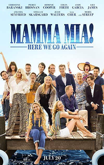 Mamma Mia! Here We Go Again 2018 BluRay 1080p DD5.1 x264 Atmos TrueHD 7.1-HDChina