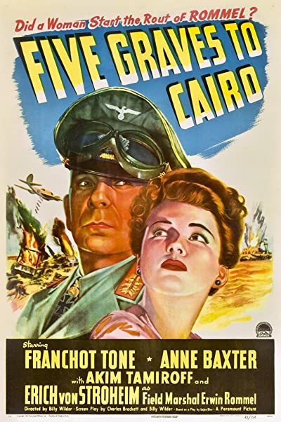 Five Graves To Cairo 1943 720p BluRay FLAC x264-GUACAMOLE